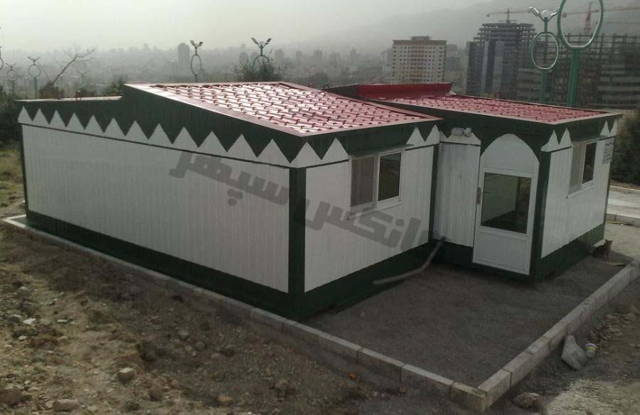 کانکس نمازخانه یا مسجد در خارج شهر