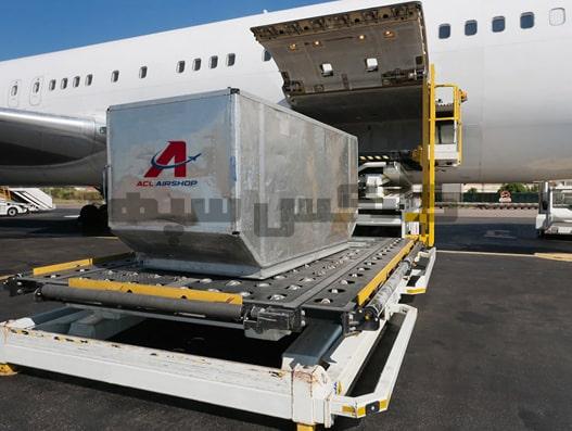 کانتینر حمل بار با هواپیما